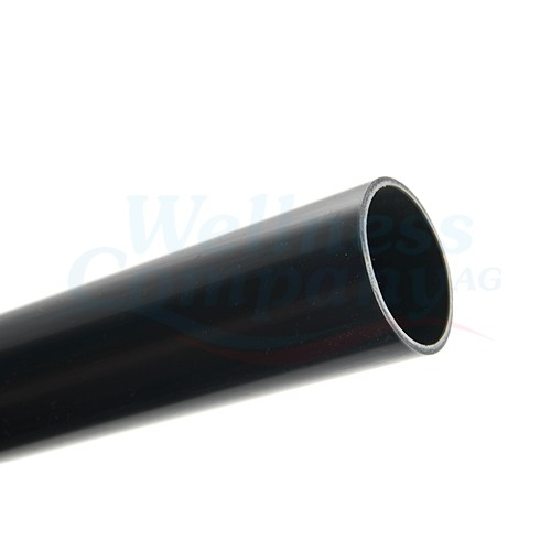 PVC Druckrohr 50mm mit Klebemuffe (S x SPG) - 0.50 Meter dunkelgrau