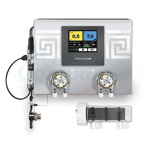 ASIN Aqua SALT CLF 25 - Dosieranlage für Pool - Salzwasser-Elektrolyse