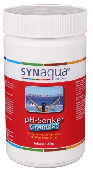 Synaqua pH Minus Granulat - 1.5 kg Dose pH-