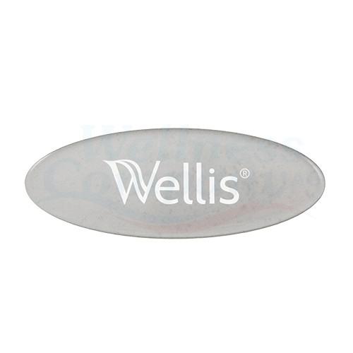 Wellis Logo-Einlage zu Whirlpool Nackenkissen