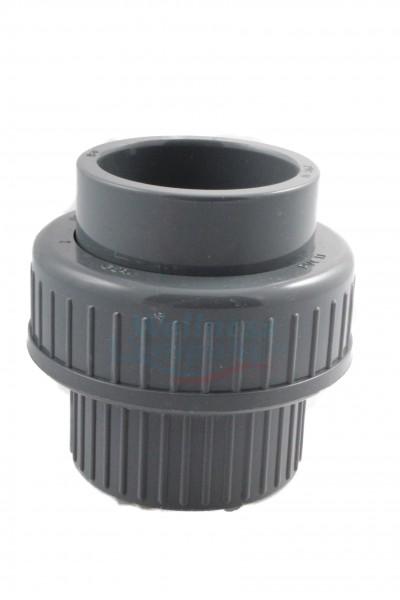 "PVC Rohrverschraubung Reduktion 2"" x 63mm"